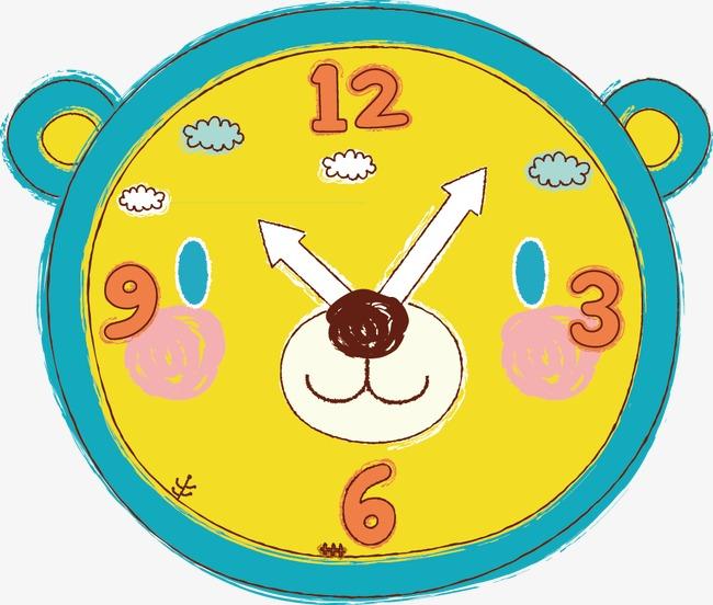 可爱卡通时钟