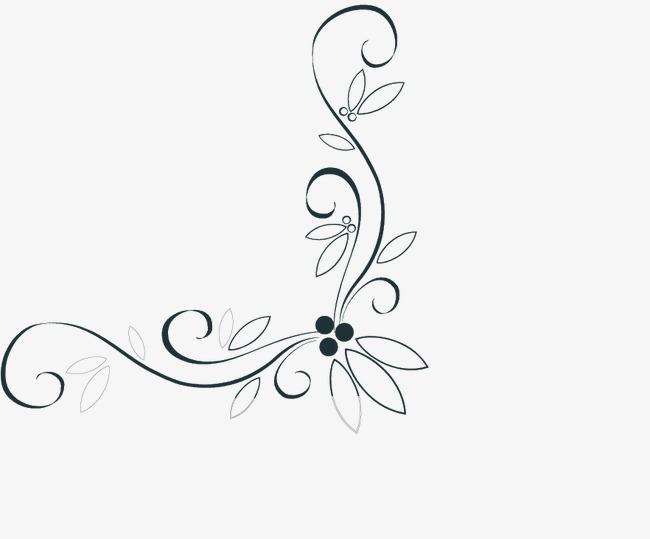 中式花边 纹 古典花纹图片