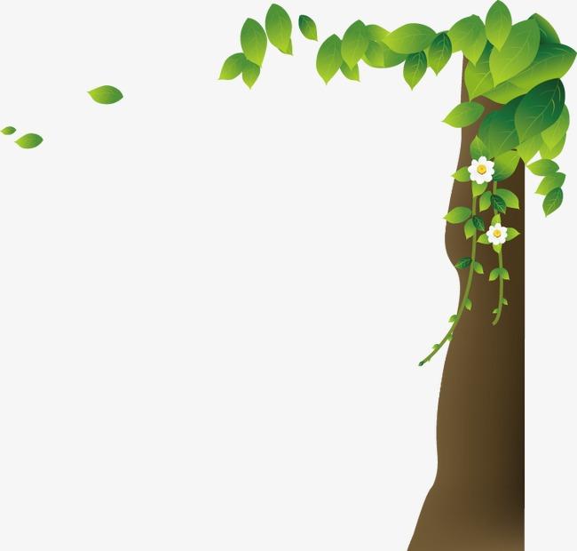 卡通手绘树木