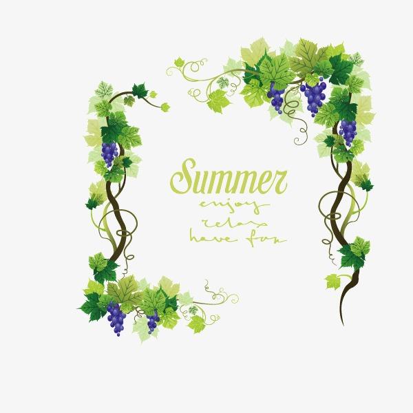 设计元素 背景素材 其他 > 花纹 绿色花纹 夏天  [版权图片] 找相似下