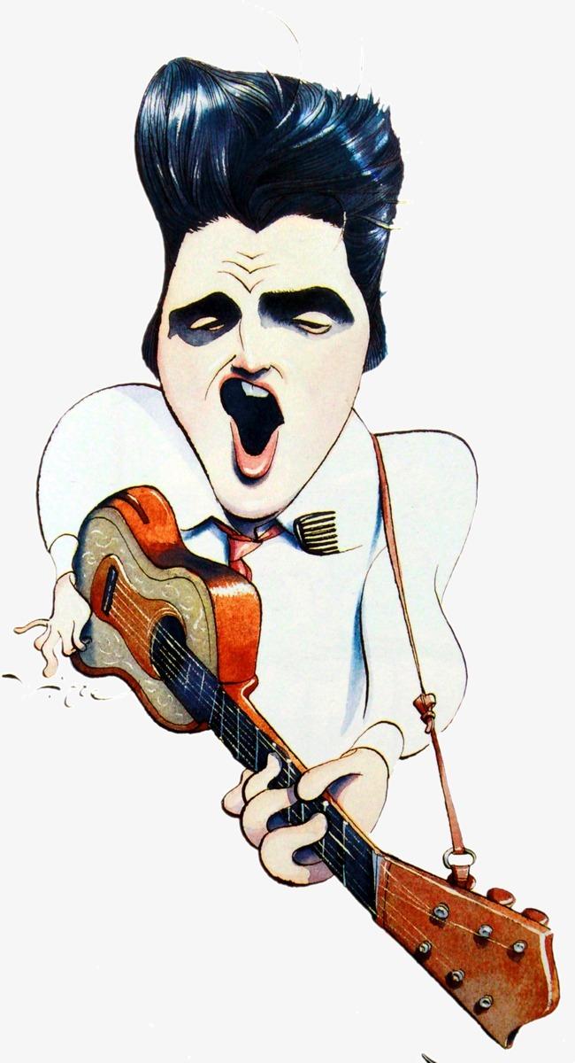 彈吉他的搖滾青年圖片