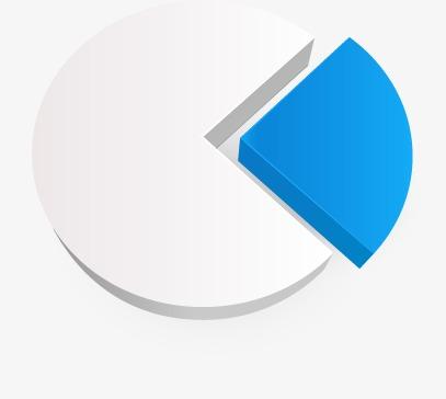 设计元素 科技素材 信息图表 > 饼状图  [版权图片] 找相似下一张 >