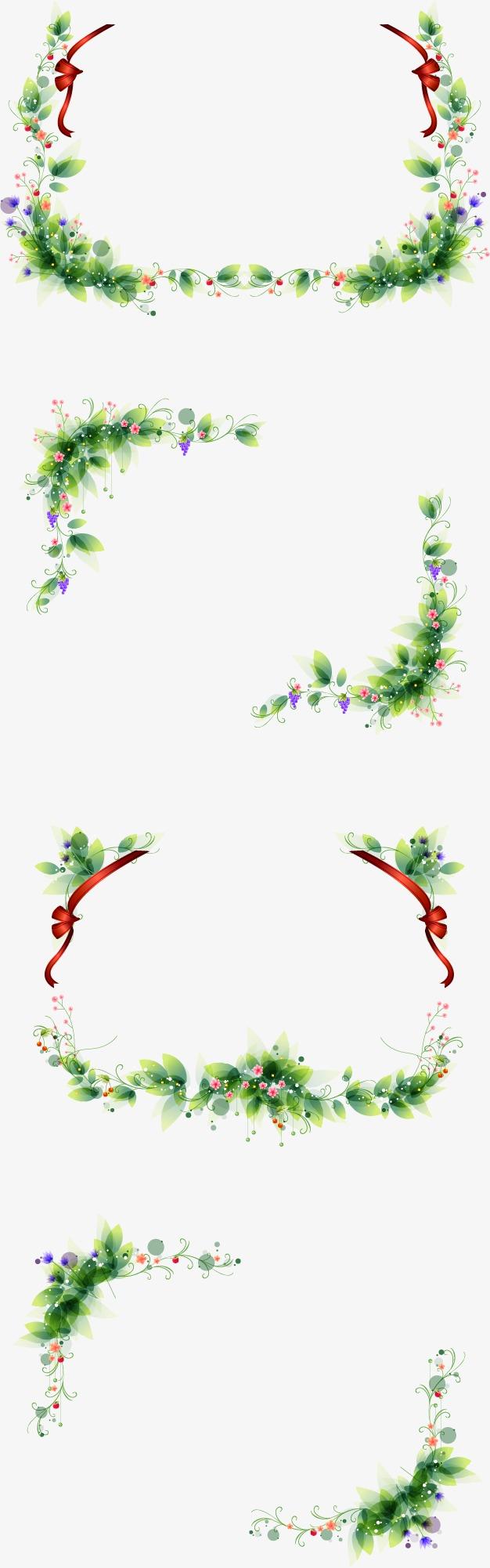 手绘花纹边框(图片编号:15400803)