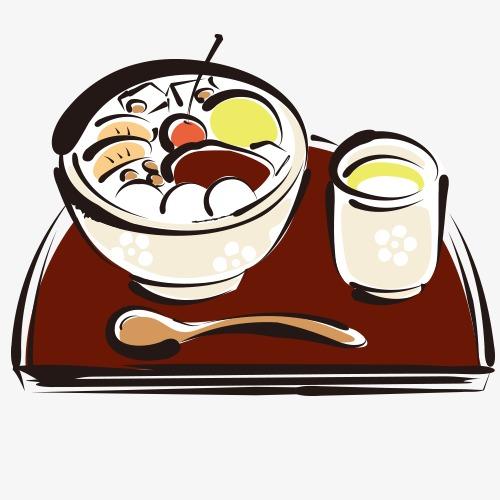日式食物 可爱 简笔画 漫画 手绘食物 卡通
