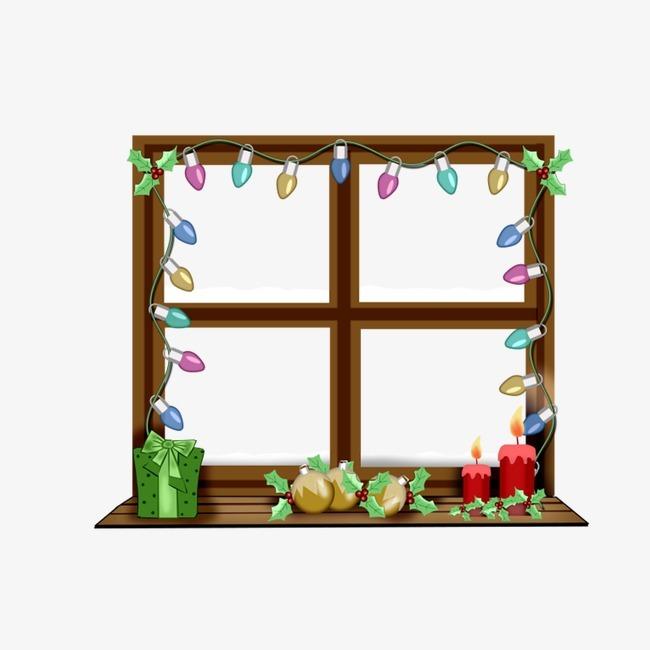 卡通窗户框【高清边框纹理png素材】-90设计图片
