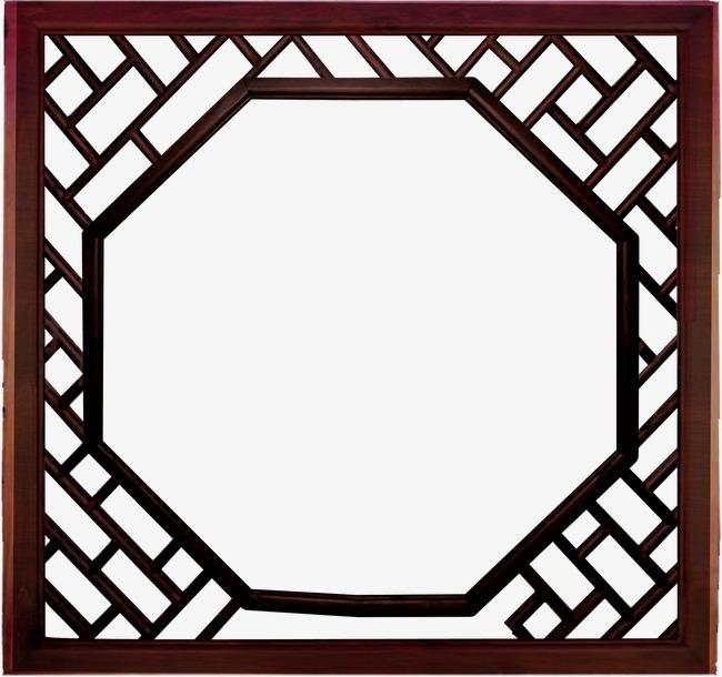 唯美 精美 中国风 窗户 花纹 边框