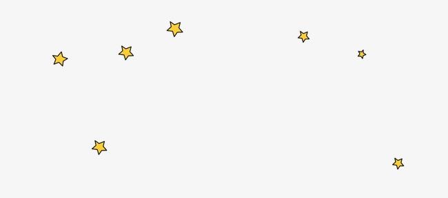 卡通手绘星星