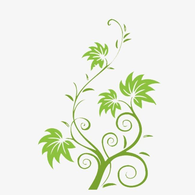 平面手工制作树藤