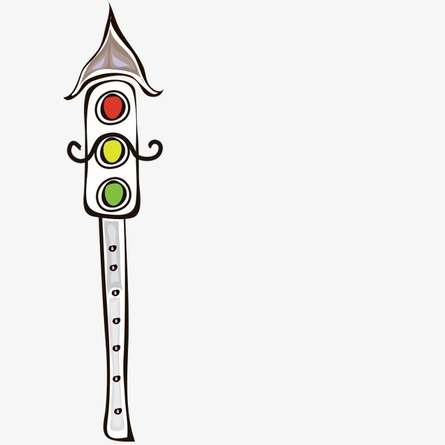 手绘 卡通 马路下 休闲 建筑 交通 卡通png素材-90设计