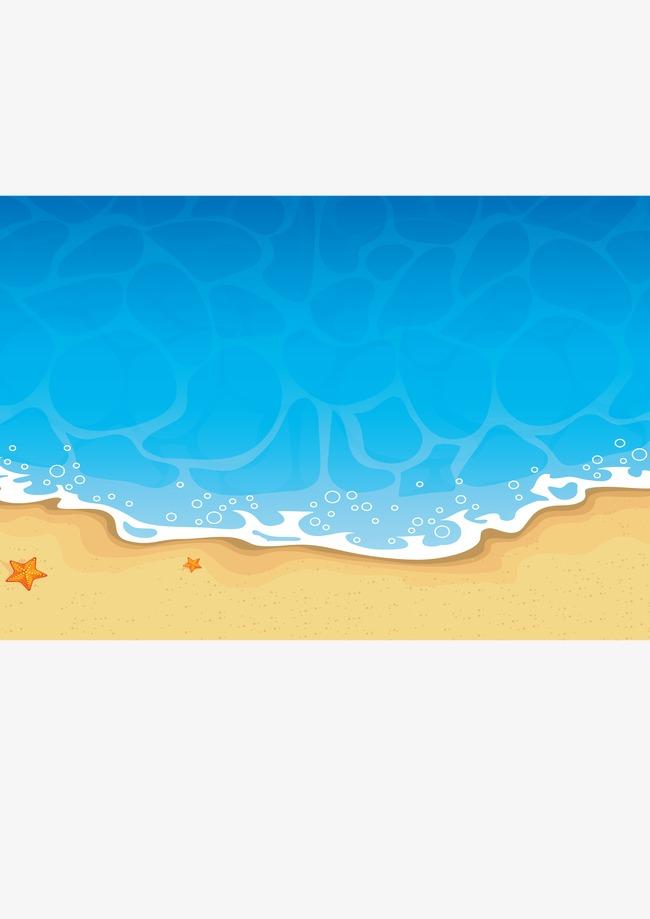 【卡通海滩】设计素材_花图网(元素id:443250)图片