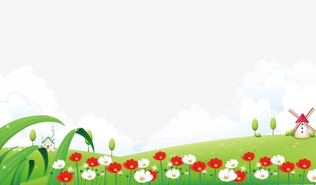 春天的风景png素材-90设计