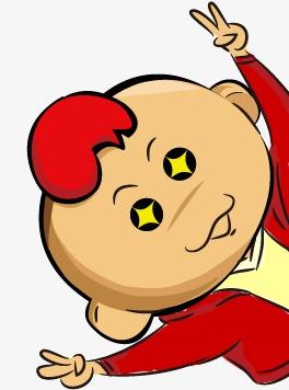 两眼冒金星囹�a_眼冒金星的卡通小孩