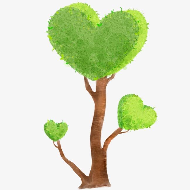 绿色小树图片