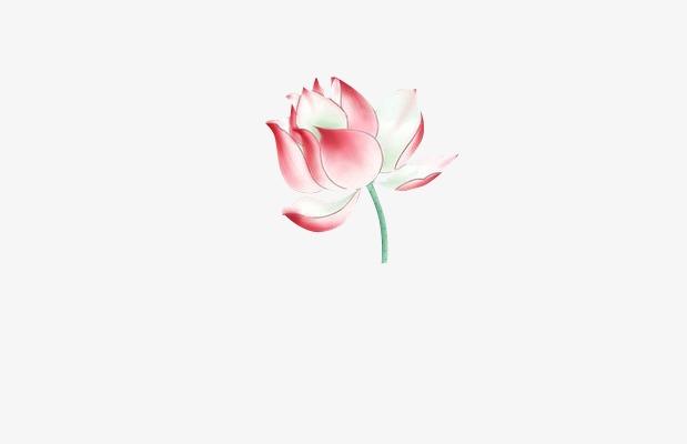 莲花荷花素材花苞中国风莲叶装修古风素材求漂浮设计师联系方式图片
