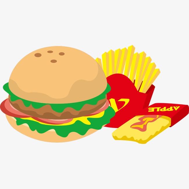食物 快餐 高热量 汉堡 薯条 麦当劳