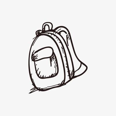书包怎么画的步骤