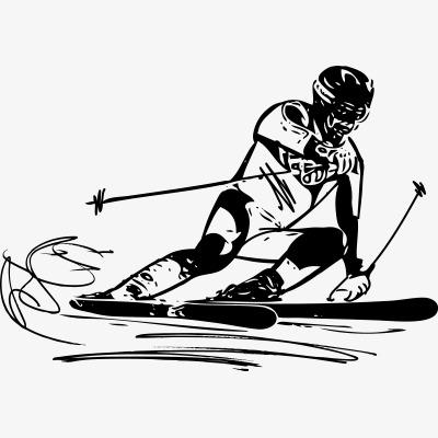 滑雪海報_滑雪png素材-90設計