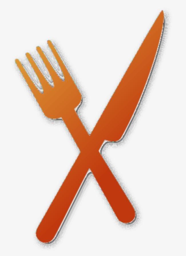 海报 png 素材 装饰品 卡通 刀叉 餐具             此素材是90设计图片