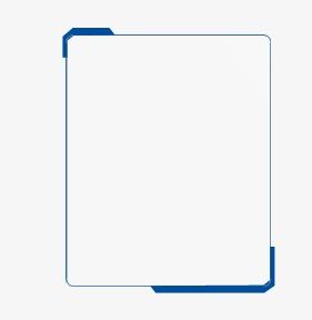 设计元素 背景素材 其他 > 蓝色简约边框  [版权图片] 找相似下一张 >
