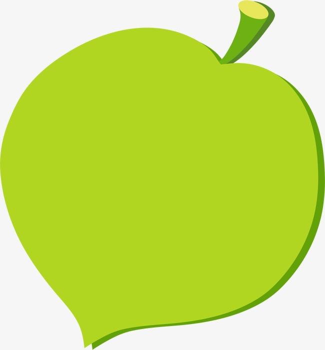 卡通绿叶边框(图片编号:15403602)