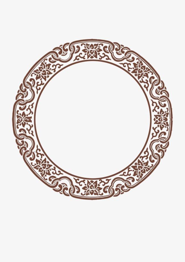 圆形花边边框矢量素材模板下载(图片编号:11273829)
