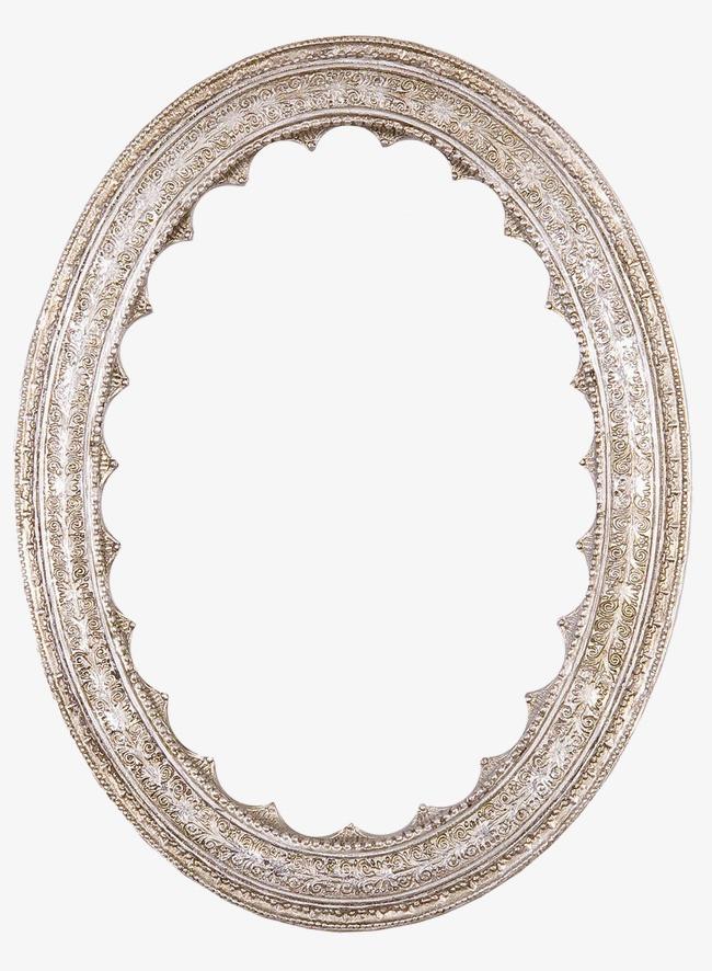 本次欧式复古华丽花纹镜框相框边框作品为设计师深蓝创作,格式为png