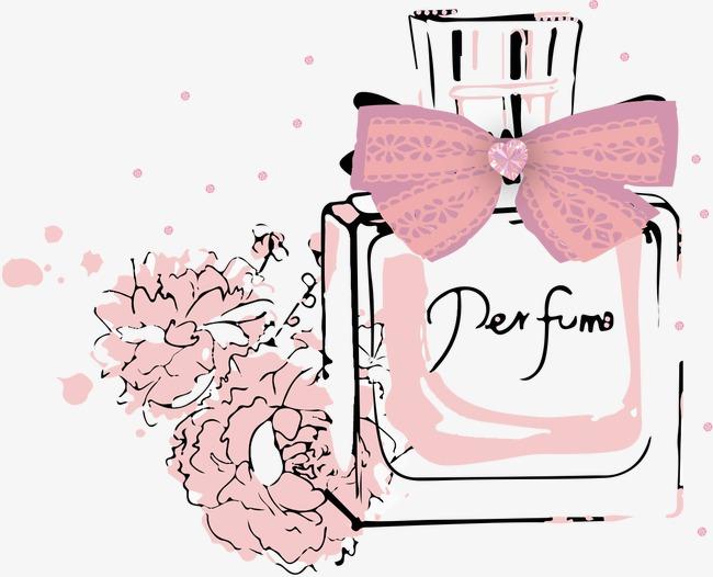 手绘香水【高清装饰元素png素材】-90设计图片