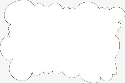 花边 手绘 边框 底纹 卡通 可爱 线框