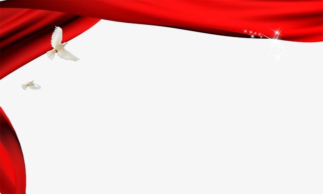 设计元素 背景素材 其他 > 红色丝带边框素材  [版权图片] 找相似下一