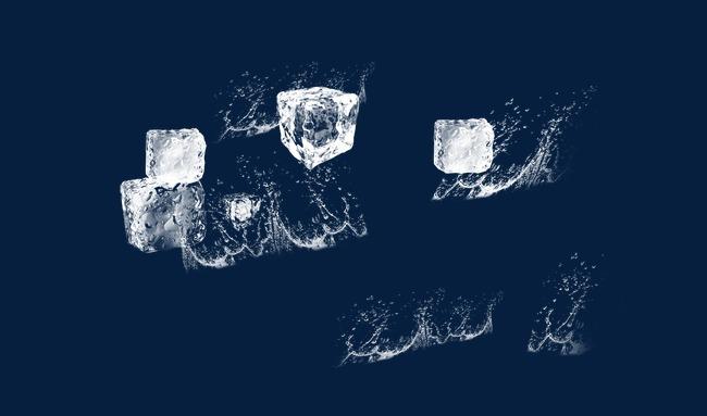 马克笔手绘冰块
