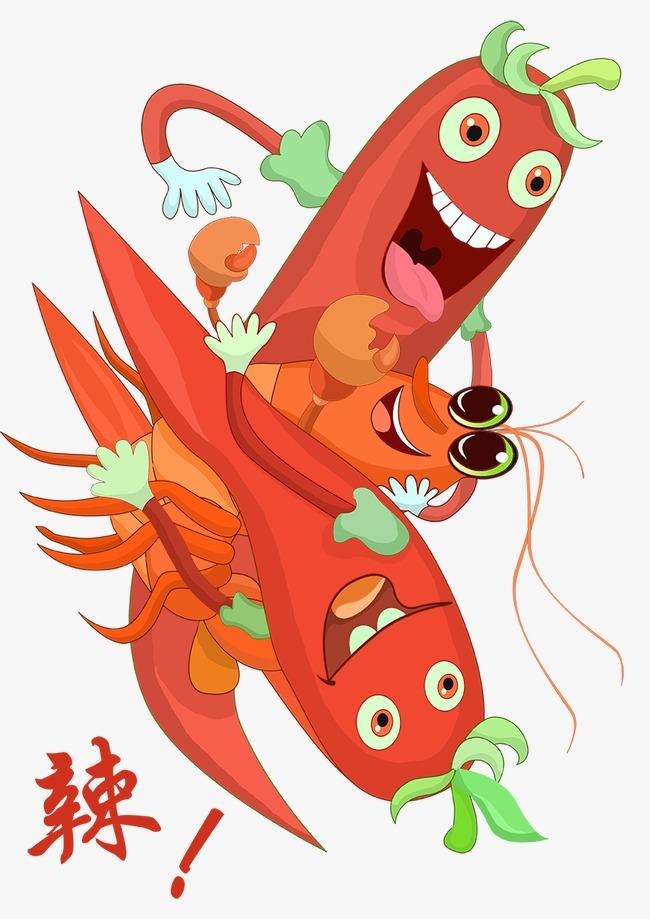 辣椒 卡通 手绘 红辣椒             此素材是90设计网官方设计出品