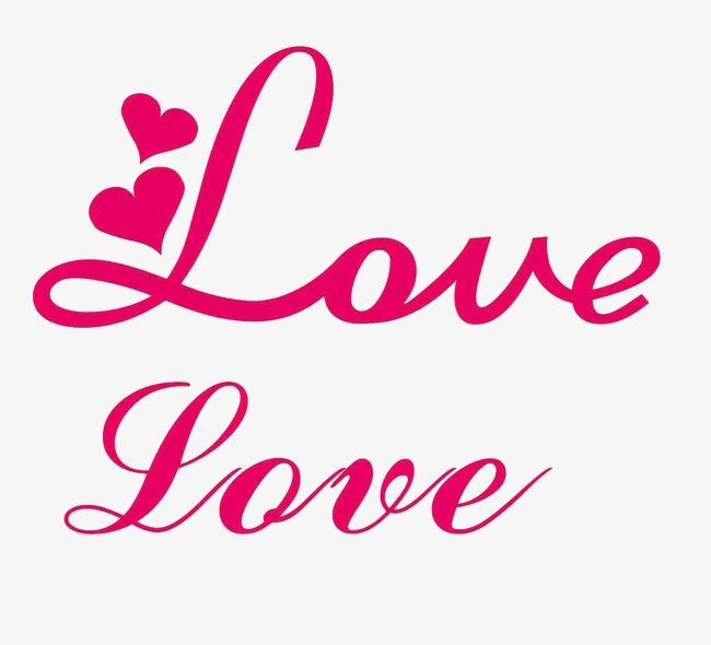 艺术字体设计爱英文love图片