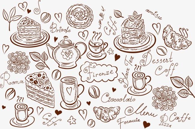 设计元素 背景素材 其他 > 手绘甜点  [版权图片] 找相似下一张 >