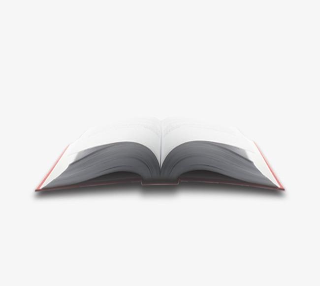 打开的书本