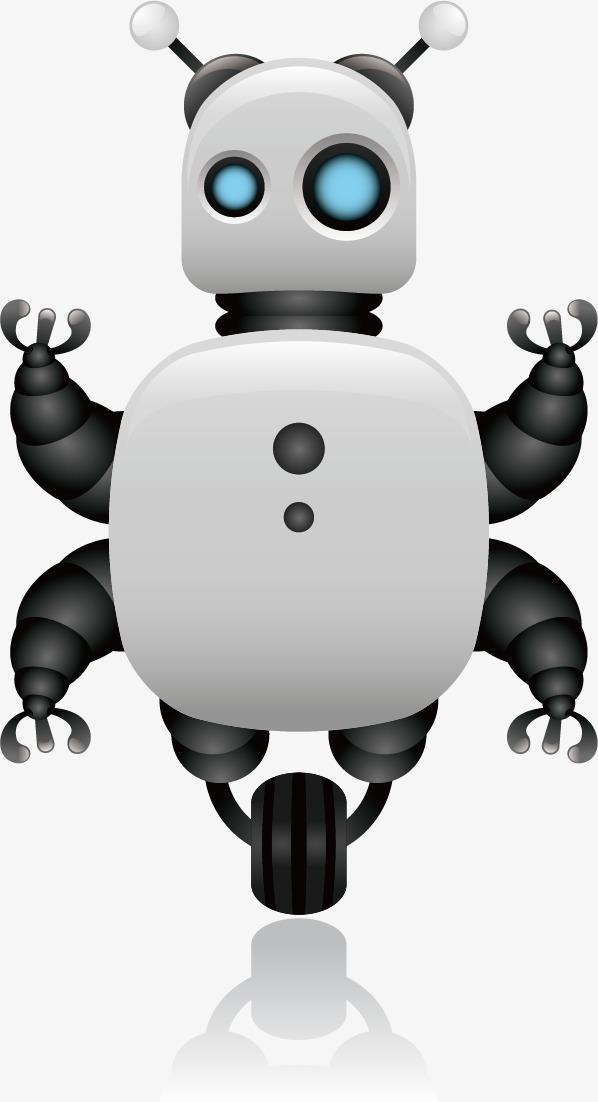 机器人 矢量机器人 卡通 可爱             此素材是90设计网官方图片