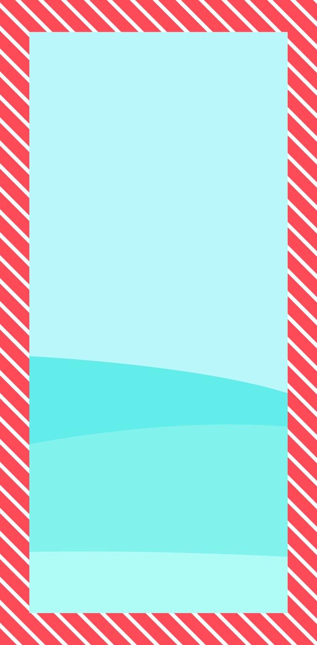 千库网 图片素材 红色条纹边框装饰  按   收藏千库网