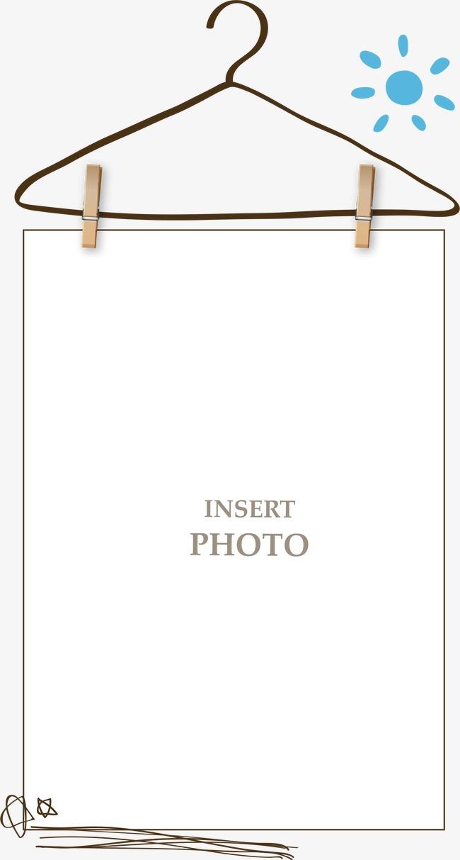 设计元素 背景素材 其他 > 手绘衣架边框  [版权图片] 找相似下一张 >