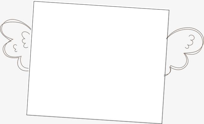 设计元素 背景素材 其他 > 手绘翅膀边框