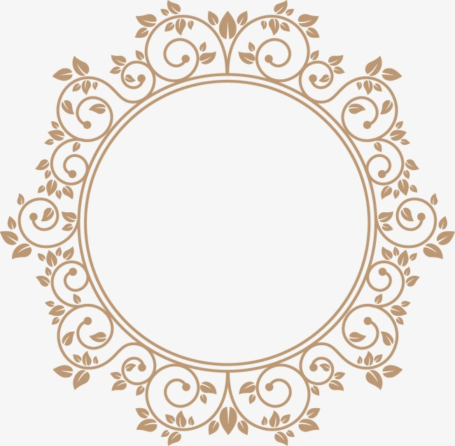 796643937 on Gold Circle Frame