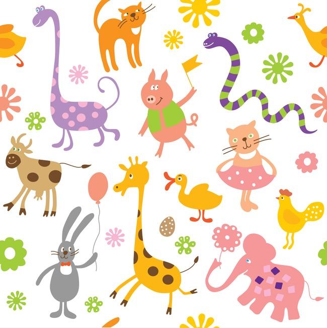 本次彩色小动物印花作品为设计师manda-马创作,格式为png,编号为