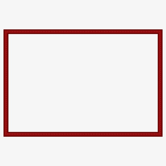 红色边框素材图片免费下载_高清边框纹理png_千库网