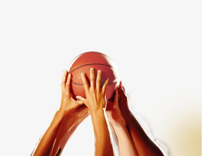 托举篮球图片