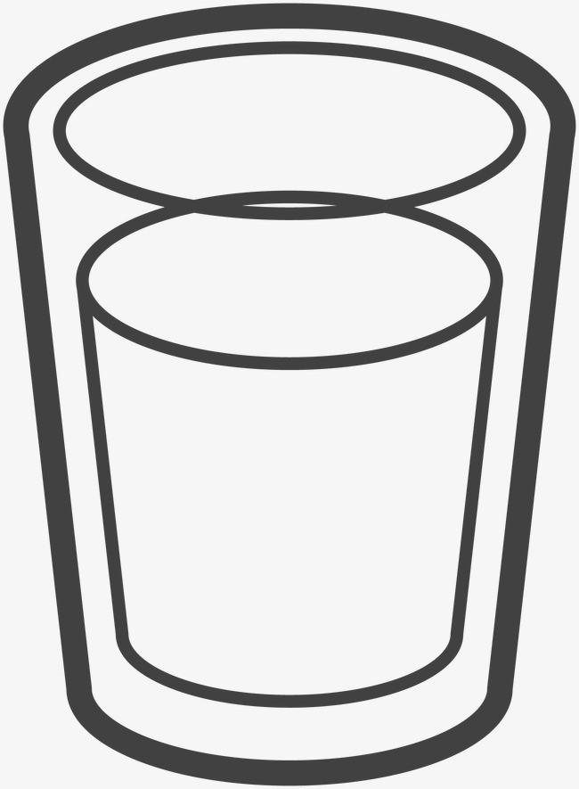 杯 杯子 简笔画 手绘 线稿 650_885 竖版 竖屏