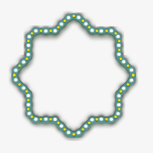 霓虹灯招牌边框装饰图案