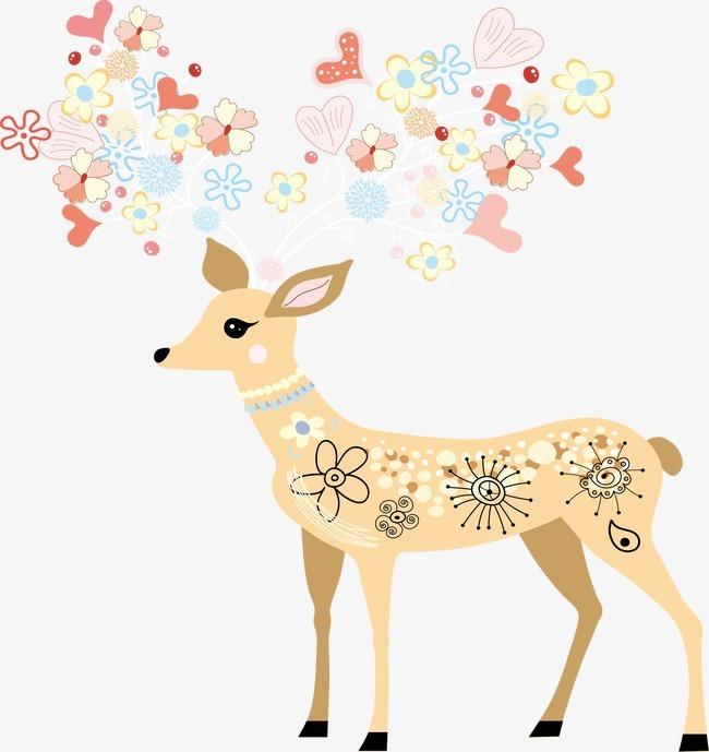梅花鹿 花纹