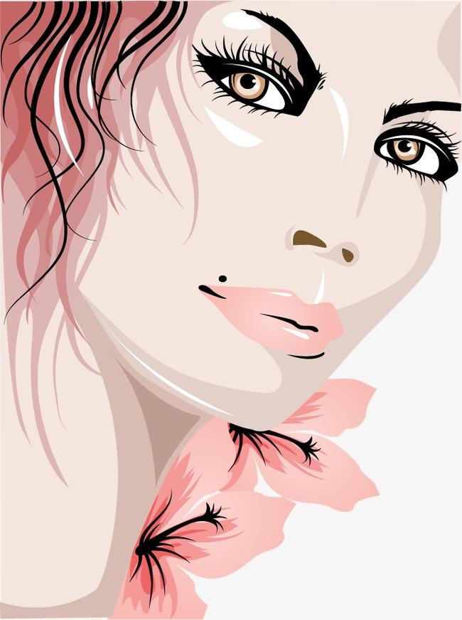 美丽女性头像素材图片免费下载 高清图片pngpsd 千库网 图片编号2206218