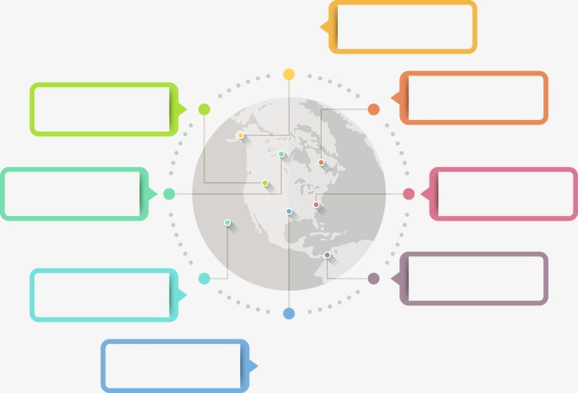设计元素 科技素材 信息图表