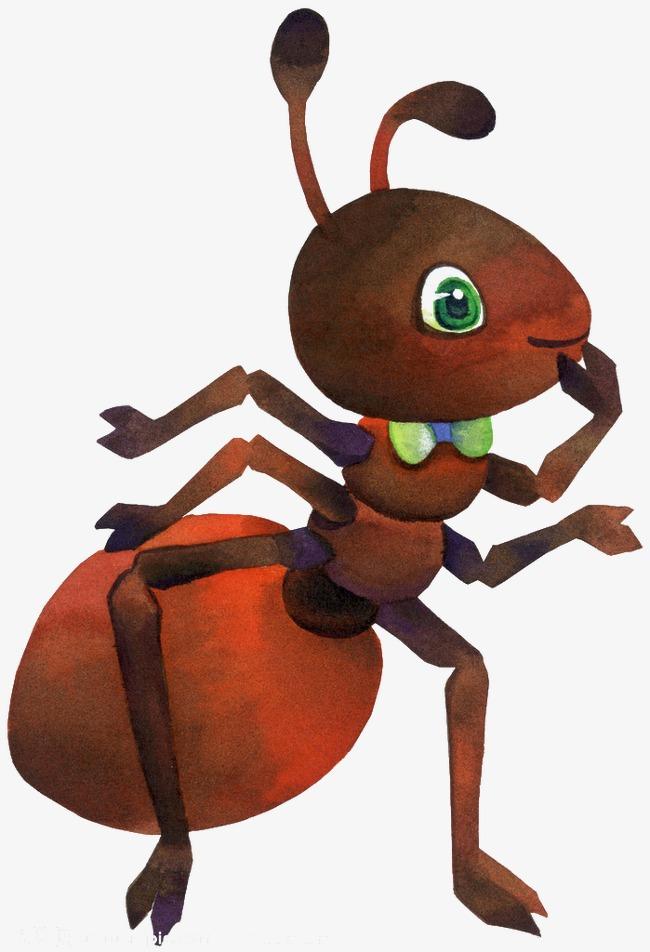 儿童画蚂蚁图片