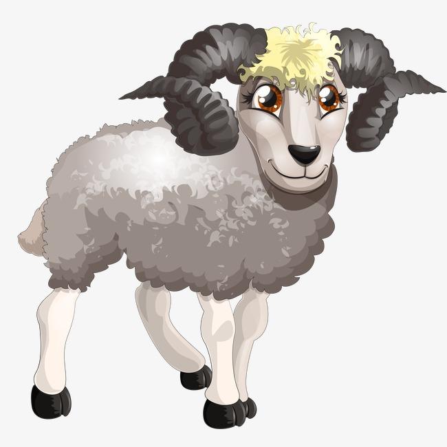 绵羊 动物 卡通 羊             此素材是90设计网官方设计出品,均做