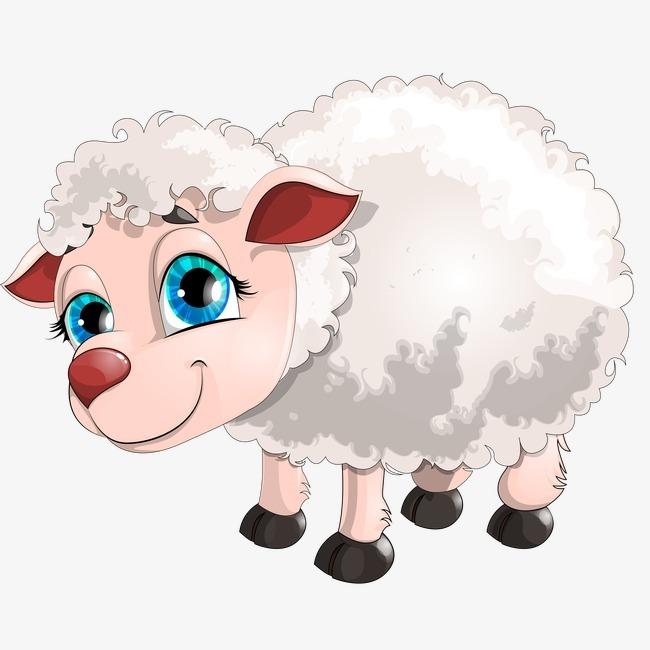 绵羊 卡通 羊 动物             此素材是90设计网官方设计出品,均做